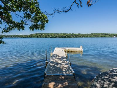 Photo for Modern Lakefront Vacation Home with Private Dock, Great Views, & Water Toys!