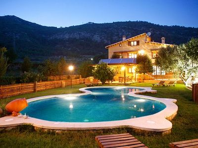 Photo for Self catering La Ginesta rural for 8 people