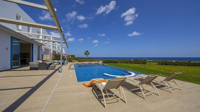 Photo for Stunning Sea Front Villa in the heart of Protaras, Private Pool, Large Garden & Panoramic Views!