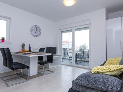 Photo for Modern One-Bedroom Apartment with Terrace