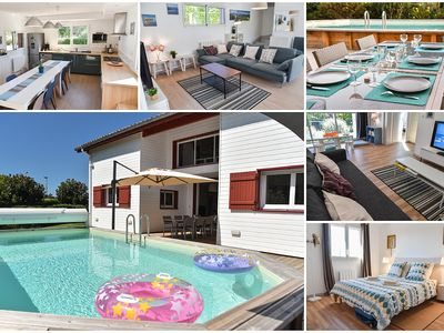 Photo for House 12 people with swimming pool on Saint Jean De Luz