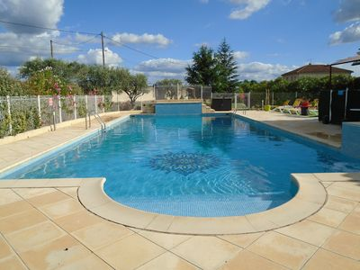 Photo for GITE IN GROUND FLOOR NEAR AVIGNON AND MT VENTOUX WITH SWIMMING POOL