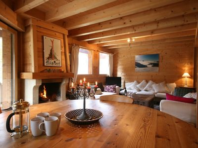 Photo for Chalet Pierre is the home of many a happy holiday both in summer and winter.