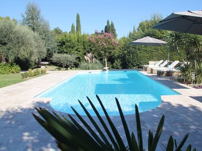 Photo for Beautiful Villa with open views near VALBONNE