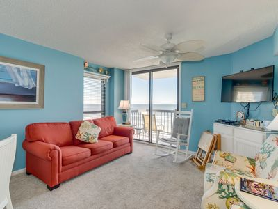 Photo for Beautifully decorated & well maintained oceanfront condo in a quiet area