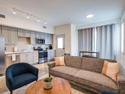 Photo for 5 ★ Urban Industrial Condo, The Perfect Private Retreat Smart Hm Enabled Next to Everything!