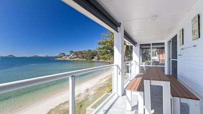 Photo for Sunrise Waters, 2/63 Soldiers Point Road - stunning waterfront property '