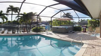 Photo for HOT TUB, Outdoor bar. Saltwater Heated Pool, Spacious Inside and Out! 37 reviews