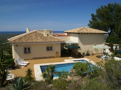 Photo for Beautiful villa suitable with children from 6yrs, private pool  sea views
