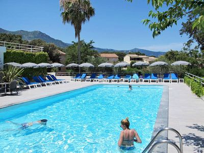 Photo for Apartment Résidence Sole et Mare  in St. Maria Poggio, Corsica - 6 persons, 2 bedrooms