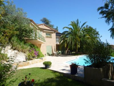 Photo for rent lovely villa with pool in Miramar near Cannes