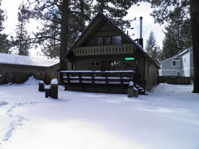 Photo for Candlewood Relaxing Tahoe Cabin with a Large deck in a great neighborhood.