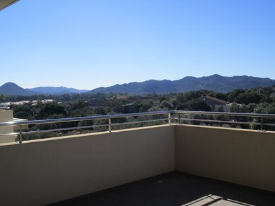 Photo for 70 m² apartment, air conditioned, 2 bedrooms, sea views, close to downtown