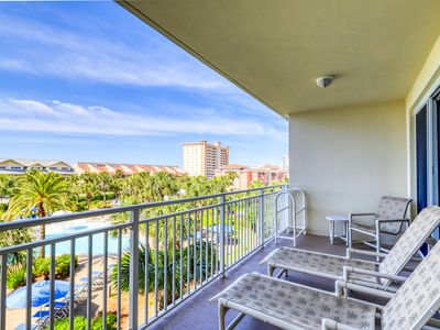 Photo for Charming & sleek condo w/incredible water views and shared on-site amenities!