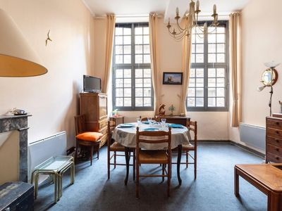 Photo for Appartment (4 persons) intra-muros st malo (near beache restaurants and shops)