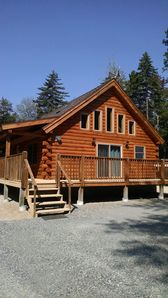 Photo for New Log Home In Secluded Lake Ashuelot Estates