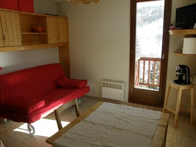 Photo for 2 rooms 4 people 2* exposed South-East