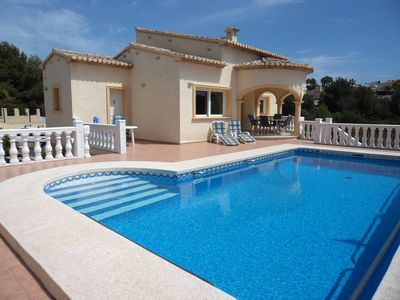 Photo for Detached Villa   Own Pool   Wif  Fi  Air  Con  Quiet Area  Table Tennis & Boules