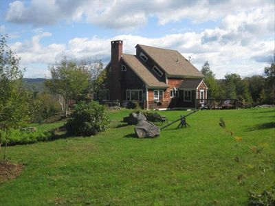 Photo for ***Available this weekend! Almost Heaven in Vermont!  25 Acres to Explore!***
