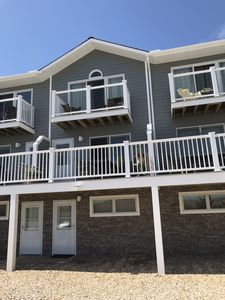 Park your car and relax. Convenient Oceanview location steps to the beach & town