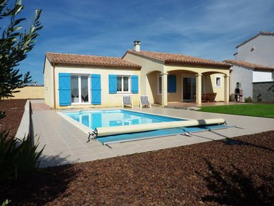 Photo for South facing, private pool & terrace,  near Carcassonne