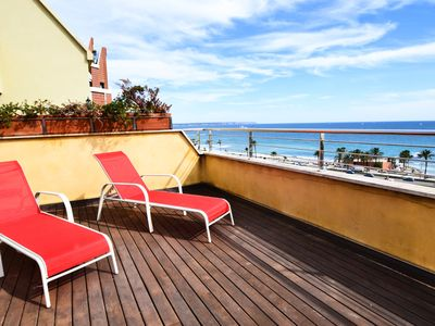 Photo for ARCHITECT. Enjoy the incredible sea breeze from the incredible terrace