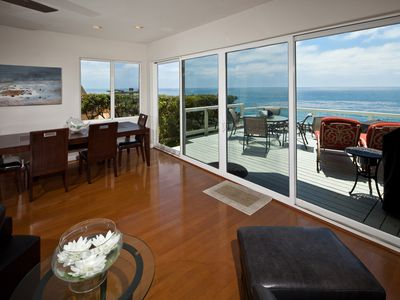 Photo for Oceanfront house with incredible view in Encinitas