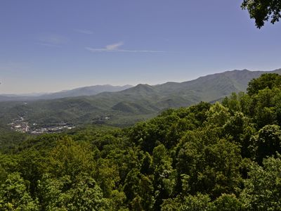Photo for 8 Bedroom/7 Baths, Hot Tub, Pool Table, 11 TVs, Breathtaking Mtn. & City View
