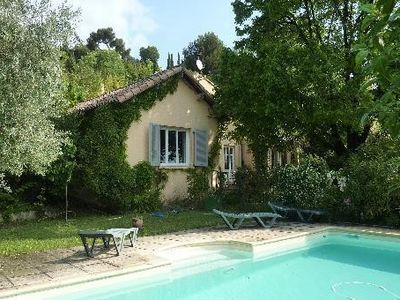 Photo for Quiet house not overlooked with garden and swimming pool in the city center