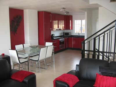 Photo for Stylish house, excellent facilities nrTorre Del Mar - free broadband wifi