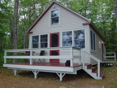 Photo for Beautiful Newly Renovated Cottage on Water's Edge of Lake Pemaquid