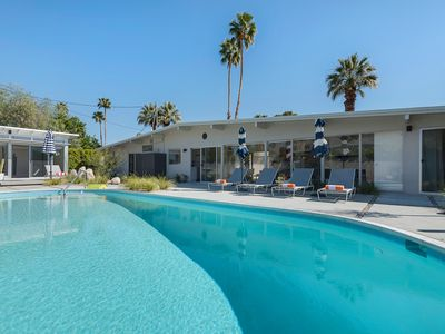 Photo for Charmed Mid-Century Home Bringing THE Palm Springs Life!