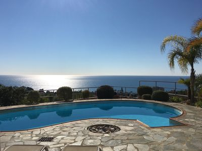 Photo for Hilltop View Villa with some of the best sea views in Cyprus Free Wi-Fi