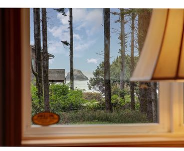 Photo for Ocean View- Private Quiet North Coast Nature Cottage on acre in forest!