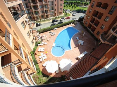 Photo for Holiday apartment Sunny Beach for 4 persons with 1 bedroom - Penthouse holiday apartment
