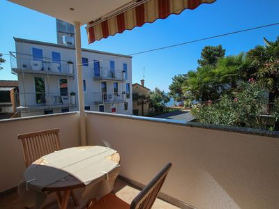 Photo for Chick apartment Red, 50m to the beach, enjoy on balcony