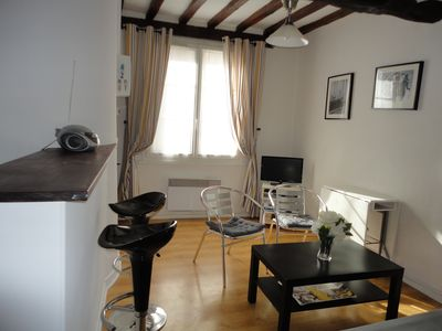 Photo for DIEPPE: charming and comfortable apartment in the city center for 2 to 3 people.