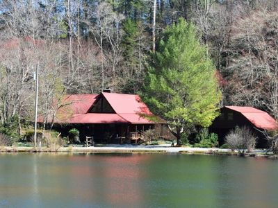 Photo for This cabin is only 300 yards from the Benton MacKaye hiking trail which connects to the Appalachian