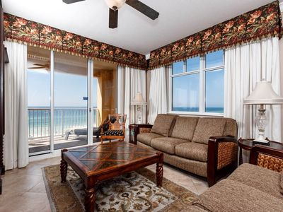 Photo for DELUXE Condo is a MUST SEE for those sandy sunsets and relaxing evenings!