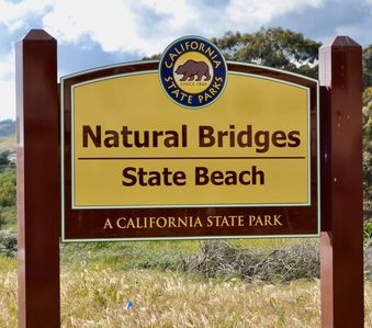 Location!  Location! Across the street from Natural Bridges State Beach Park.