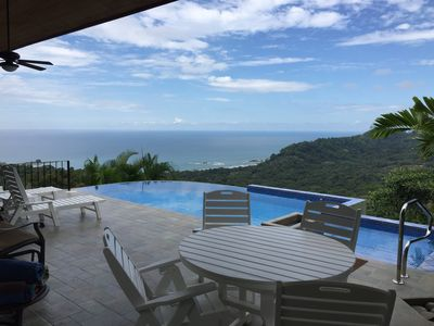 Stunning view with Polywood furniture.