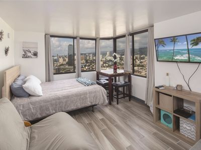 Photo for Newly Renovated Studio in the Heart of Waikiki