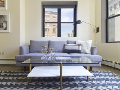 Photo for Contemporary 2BR in Financial District by Sonder