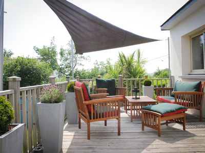 Photo for Pleasant and bright house in Fréhel, 10 min walk to the beach