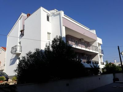 Photo for Four bedroom apartment with balcony and sea view Zadar - Diklo (Zadar)