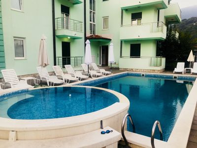 N&S (Vinograd), One bedroom apartment with pool on the site