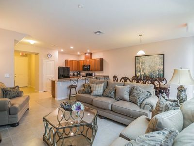 Photo for Budget Getaway - Compass Bay - Feature Packed Contemporary 4 Beds 4 Baths Townhome - 3 Miles To Disney