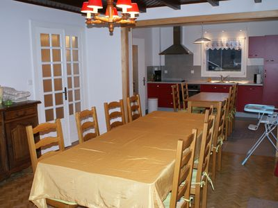 Photo for The Pré du Lac quiet, spacious and close to the lake