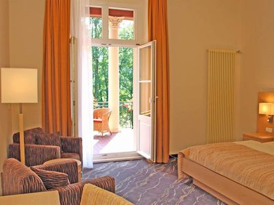 "Photo for Double room, shower, toilet - ""Villa Sendig"" - Parkhotel Bad Schandau"