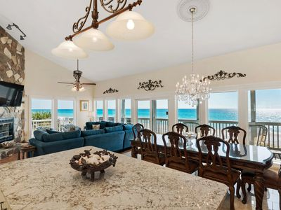 Photo for CORNER (END) LUXURY OCEANFRONT CONDO, WRAP-AROUND BALCONY, WESTERN SUNSET VIEWS
